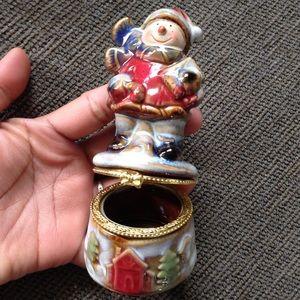 🔴Jewelry Ring Earring Box Case Holder X'mas Gift
